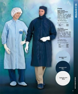 ESD Cleanroom Frocks
