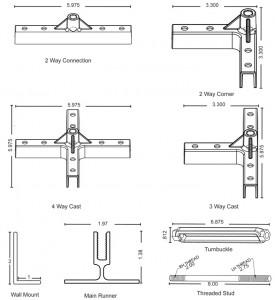 T Bar Ceiling details