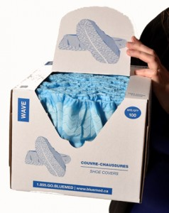 Wave Shoe Cover in a Box